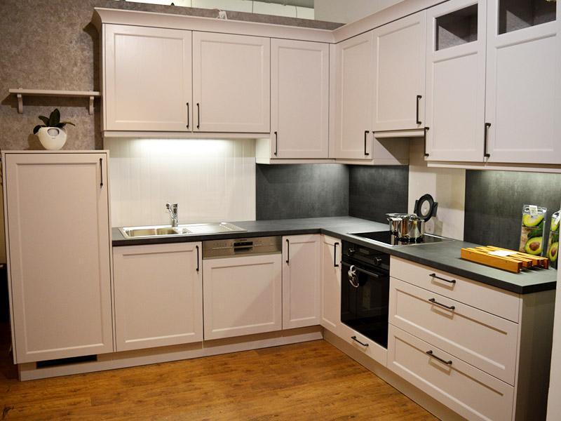 Aktuelles Einbauküche Bristol Satin Wollenberg Wohnen
