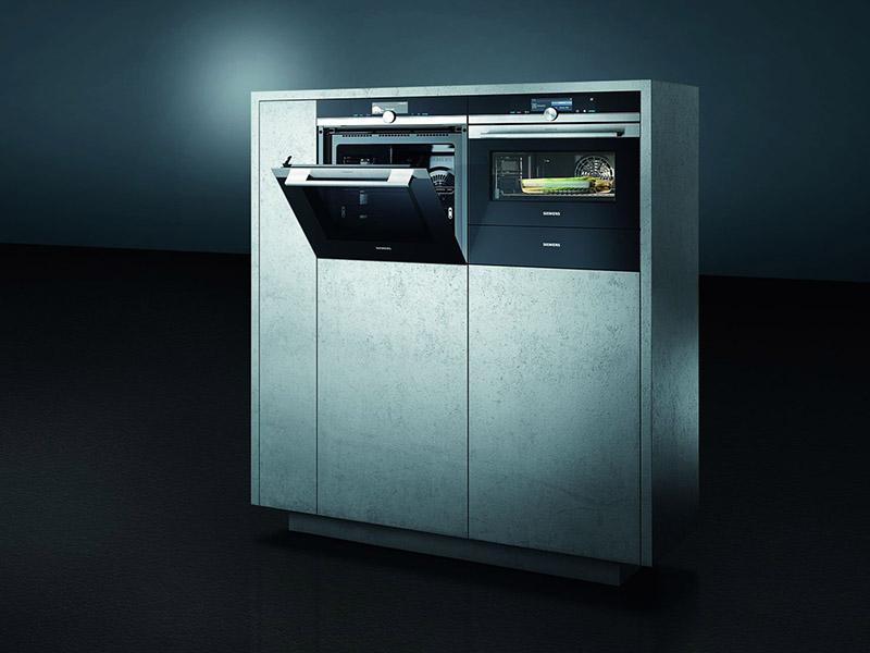 Aktuelles Küche Elektrogerät Dampfbackofen Siemens Wollenberg