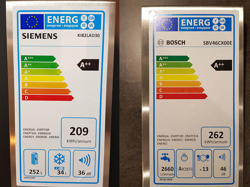 Angebote Küchen AV1010 Energieklasse Elektrogeräte Wollenberg