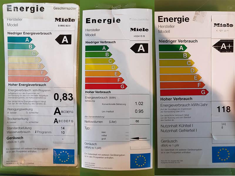 Küchen-Angebote Topline Elba Energieklassen Wollenberg