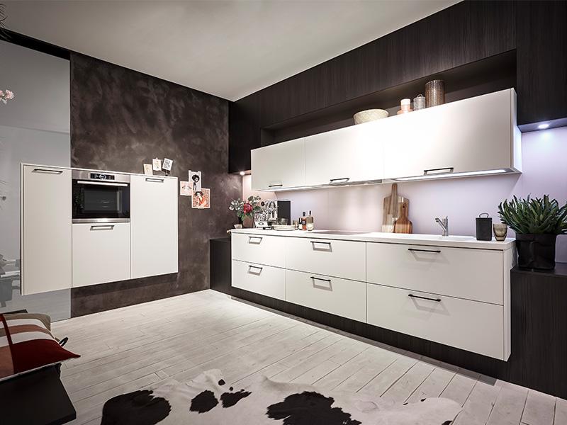 Küche kaufen Trend Loft weiss Wollenberg