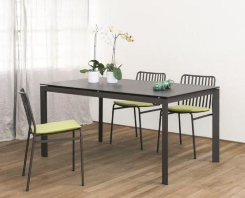 Tisch und Stühle Tisch Paris Bontempi Wollenberg Essen