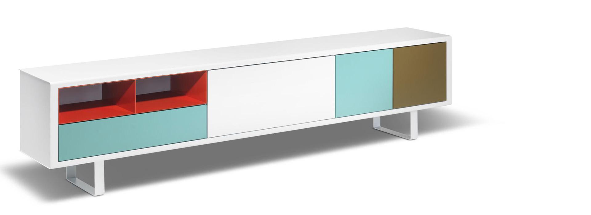 Wohnen Sideboardsystem Modular Müller-Möbelfabrikation Wollenberg