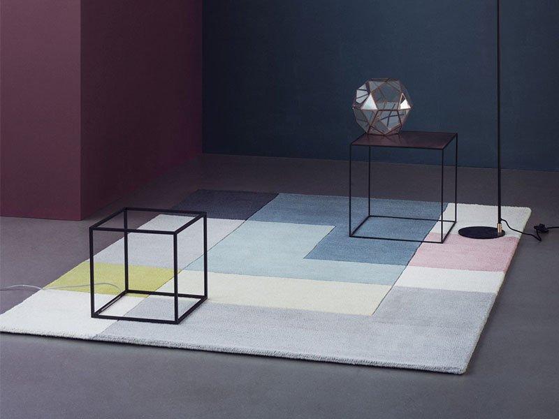 Accessoires-Teppiche Linie-Design tetris Wollenberg Essen