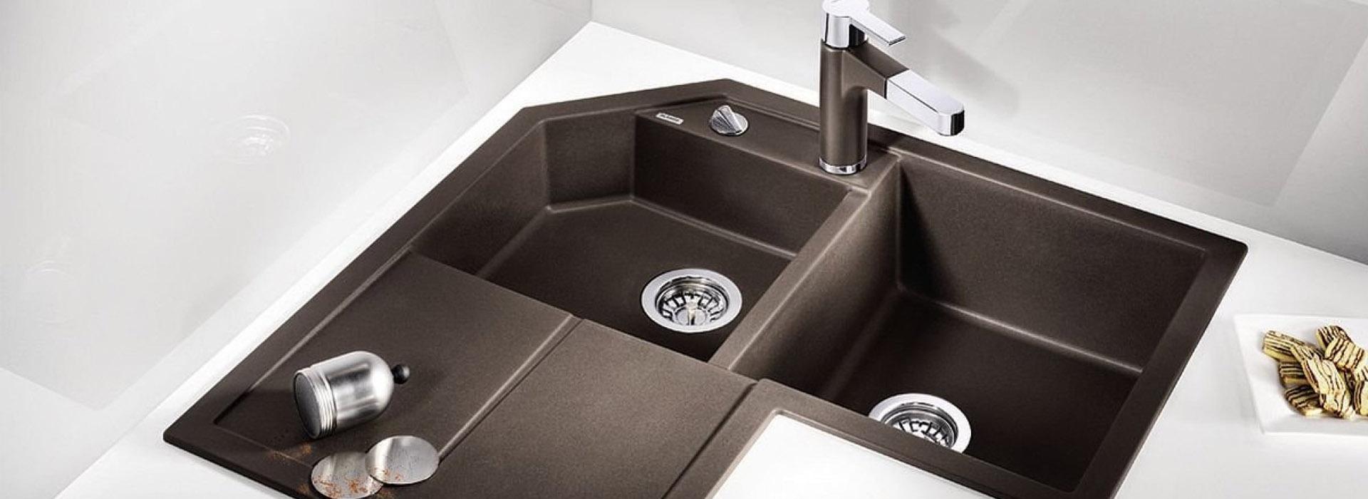 Küchenstudio Wollenberg Eckspüle Blanco Metra kaufen