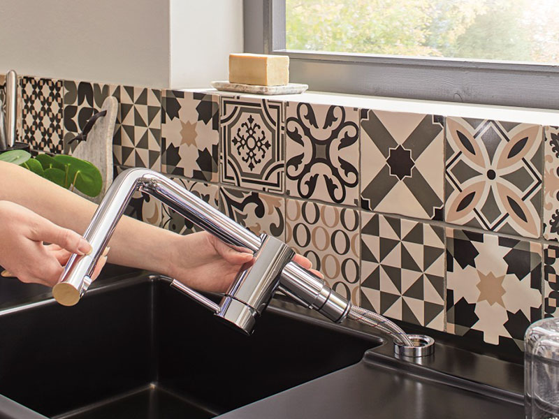 Küchentechnik Wollenberg Armatur Blanco Linus-S-Vario