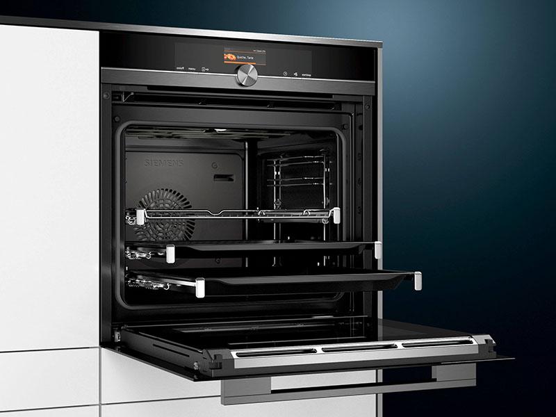 Küchentechnik Wollenberg Backofen sous-vide Siemens