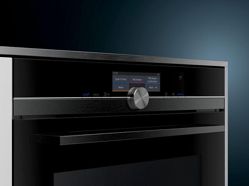 Küchentechnik Wollenberg Dampfgarer 858GXB6S Siemens